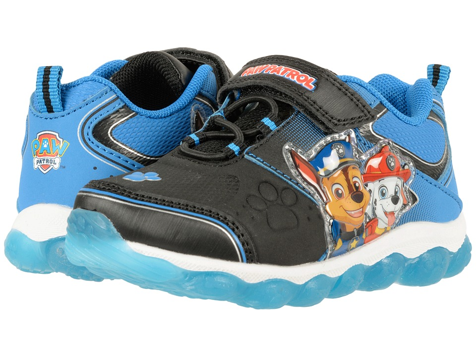 Josmo Kids Paw Patrol Lighted Bottom Sneaker (Toddler/Little Kid) (Blue) Boy's Shoes