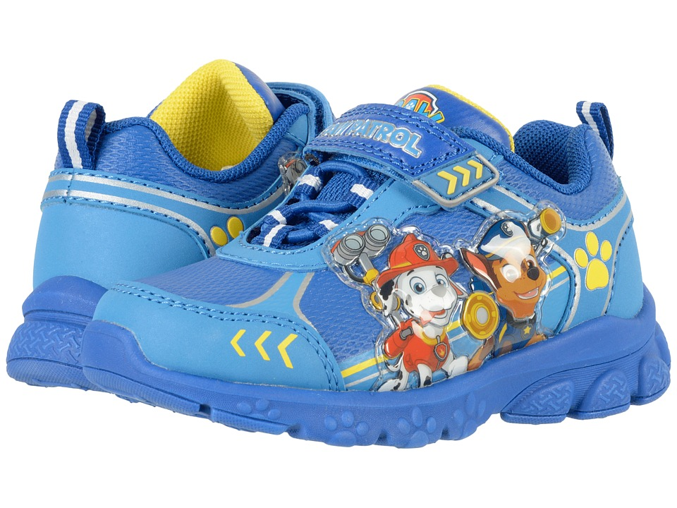 Josmo Kids Paw Patrol Lighted Sneaker (Toddler/Little Kid) (Blue) Boy's Shoes