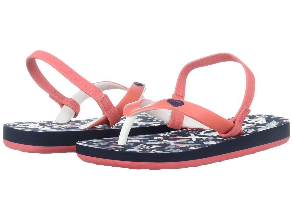 Roxy Kids Tahiti VI (Toddler) (Multi) Girls Shoes