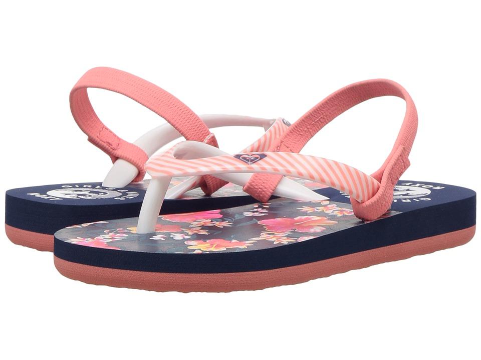 Roxy Kids Pebbles VI (Toddler) (Vintage Indigo) Girls Shoes