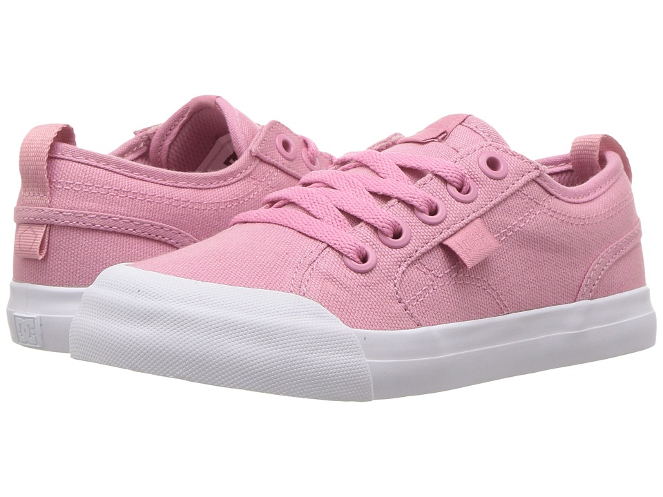 DC Kids Evan TX (Little Kid/Big Kid) (Rose) Girls Shoes