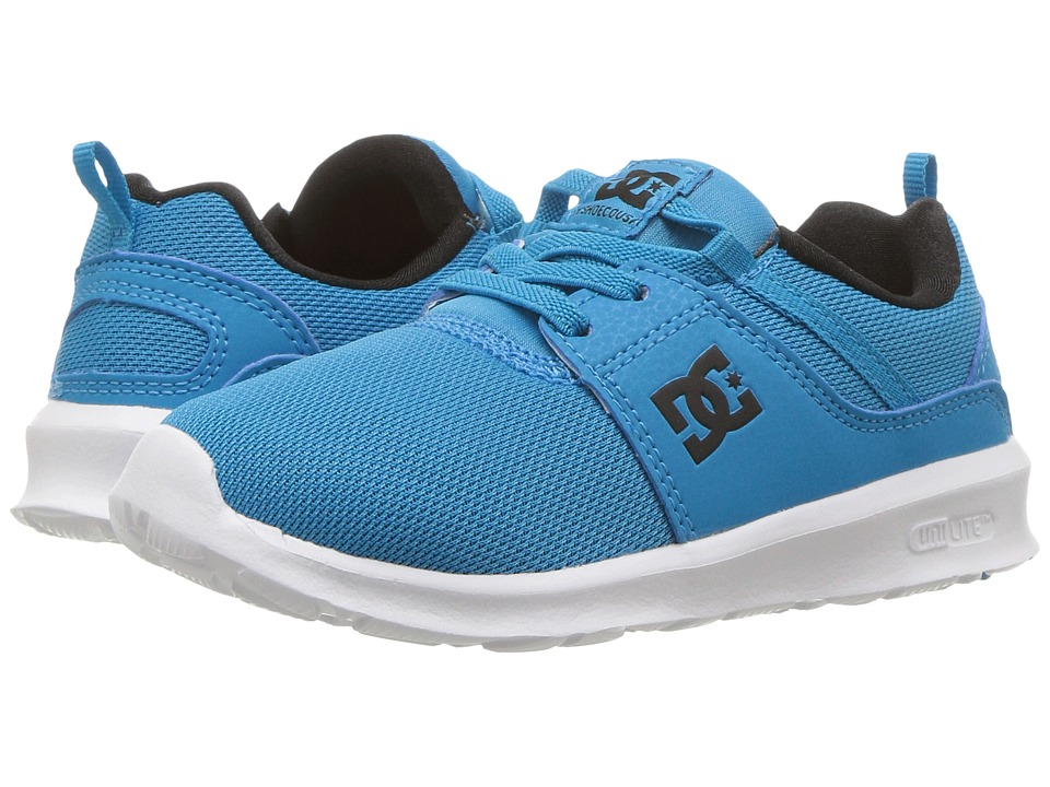 DC Kids Heathrow (Toddler) (Blue) Boys Shoes