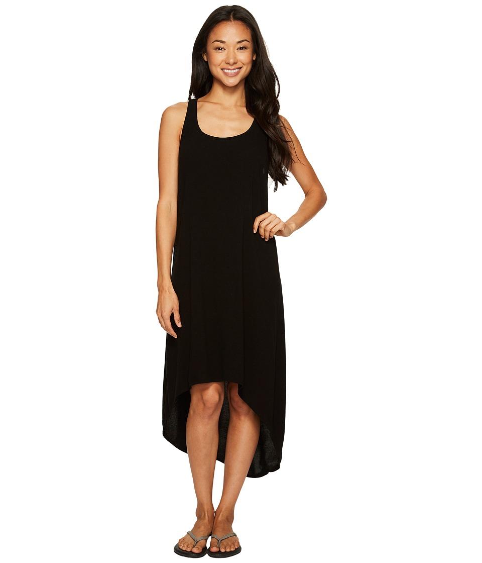 Hard Tail Hi-Low Tank Dress (Black) Women