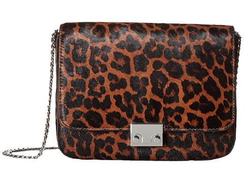 Loeffler Randall Lock Shoulder - Leopard/Black