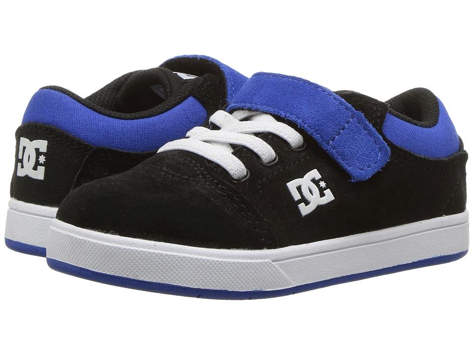 DC Kids - Crisis (Toddler) (Black/Blue) Boys Shoes