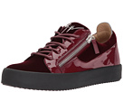 Giuseppe Zanotti May London Low Top Velvet Sneaker