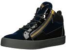 Giuseppe Zanotti May London Mid Top Velvet Sneaker