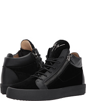 Giuseppe Zanotti - May London Mid Top Velvet Sneaker
