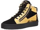 Giuseppe Zanotti May London Mid Top Metallic Sneaker