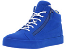 Giuseppe Zanotti May London Mid Top Flocked Sneaker