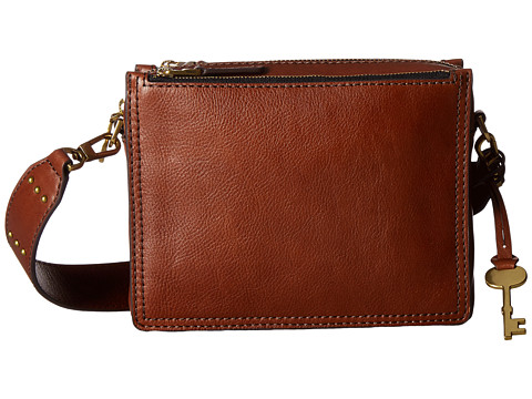 Fossil Campbell Crossbody - Brown 1