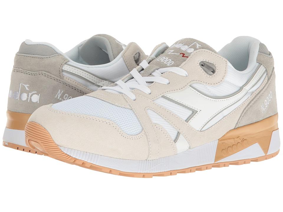 Diadora N9000 III (White/High-Rise) Athletic Shoes