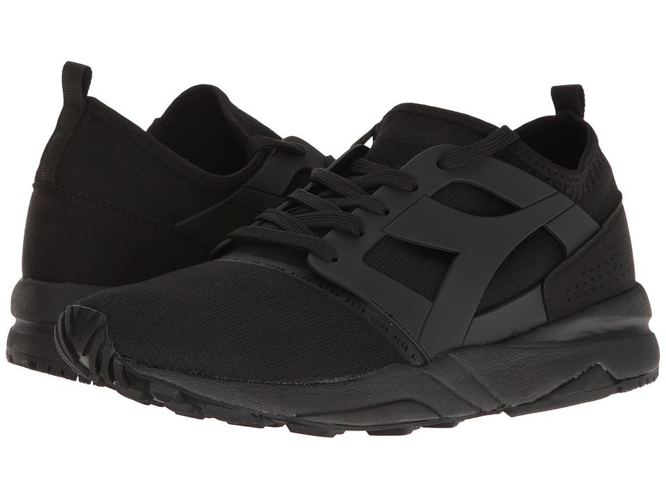 Diadora Evo Aeon (Black/Black) Athletic Shoes