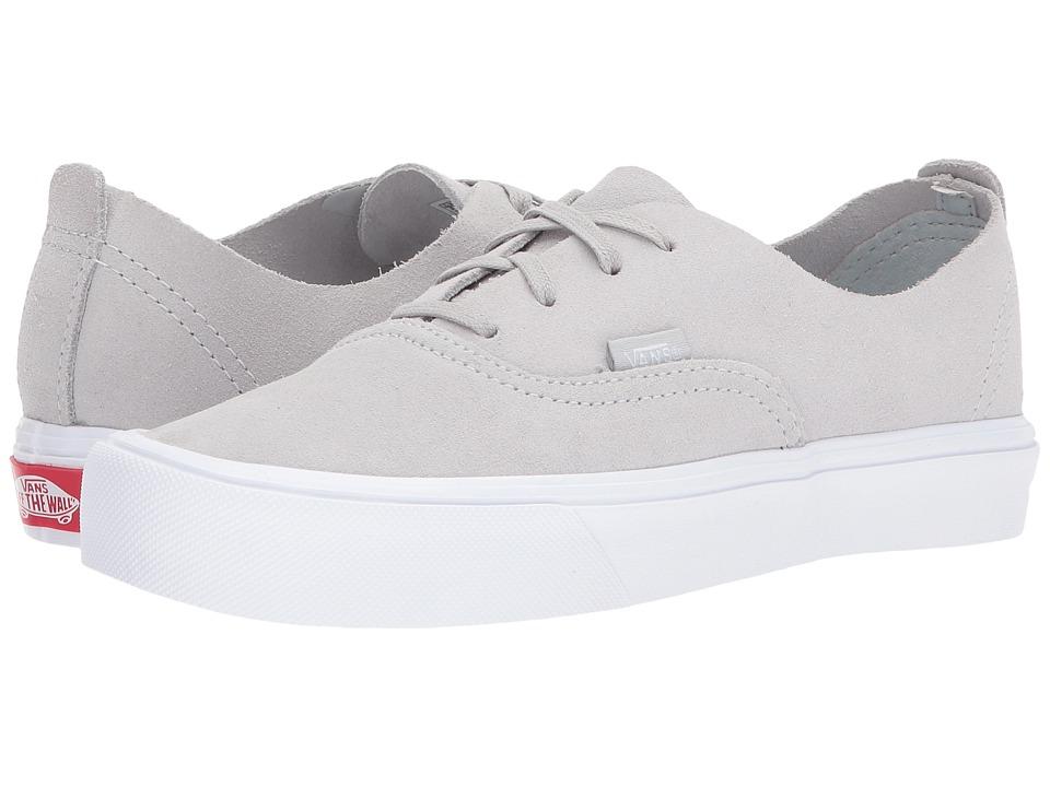 Vans Authentic Deacon Lite ((Suede) Glacier Gray/True White) Skate Shoes