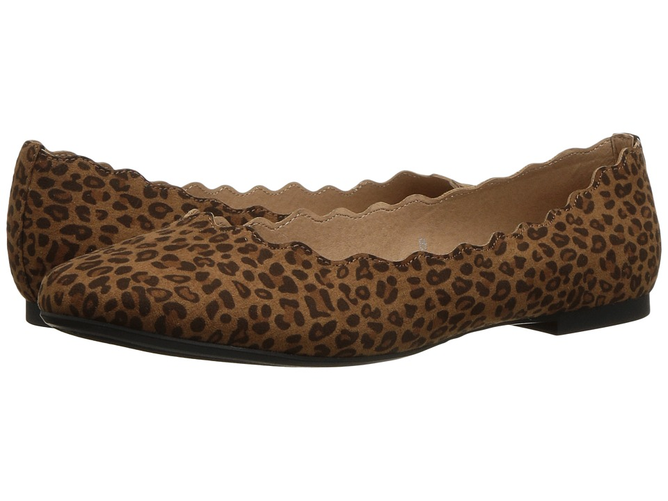 Athena Alexander Toffy (Tan Leopard Fabric) Women