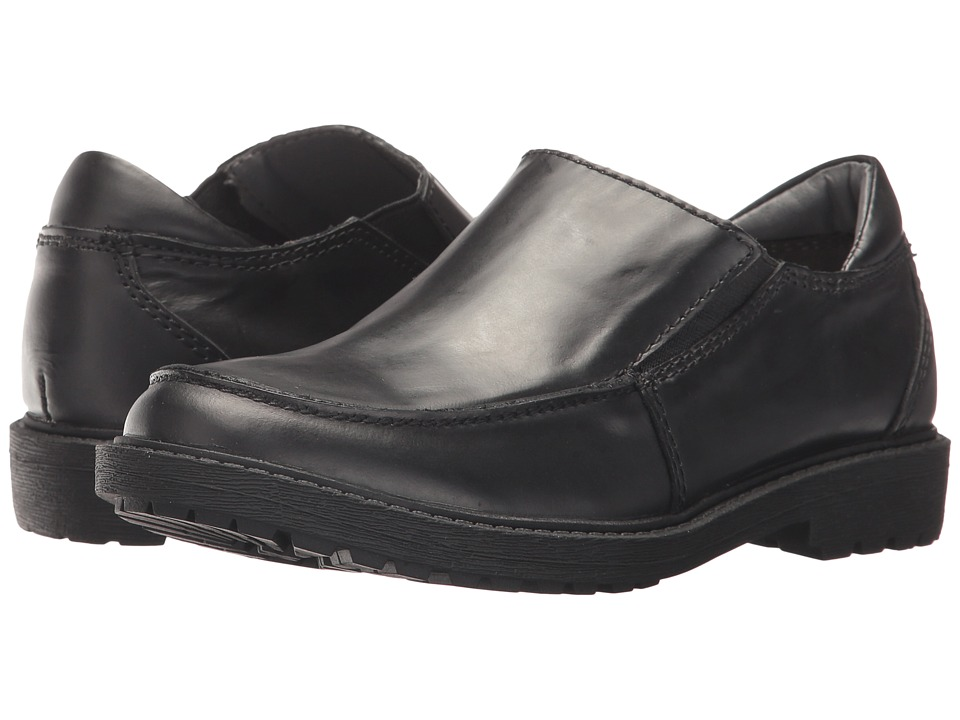 Kenneth Cole Reaction Kids Strada Slip (Little Kid/Big Kid) (Black) Boy's Shoes