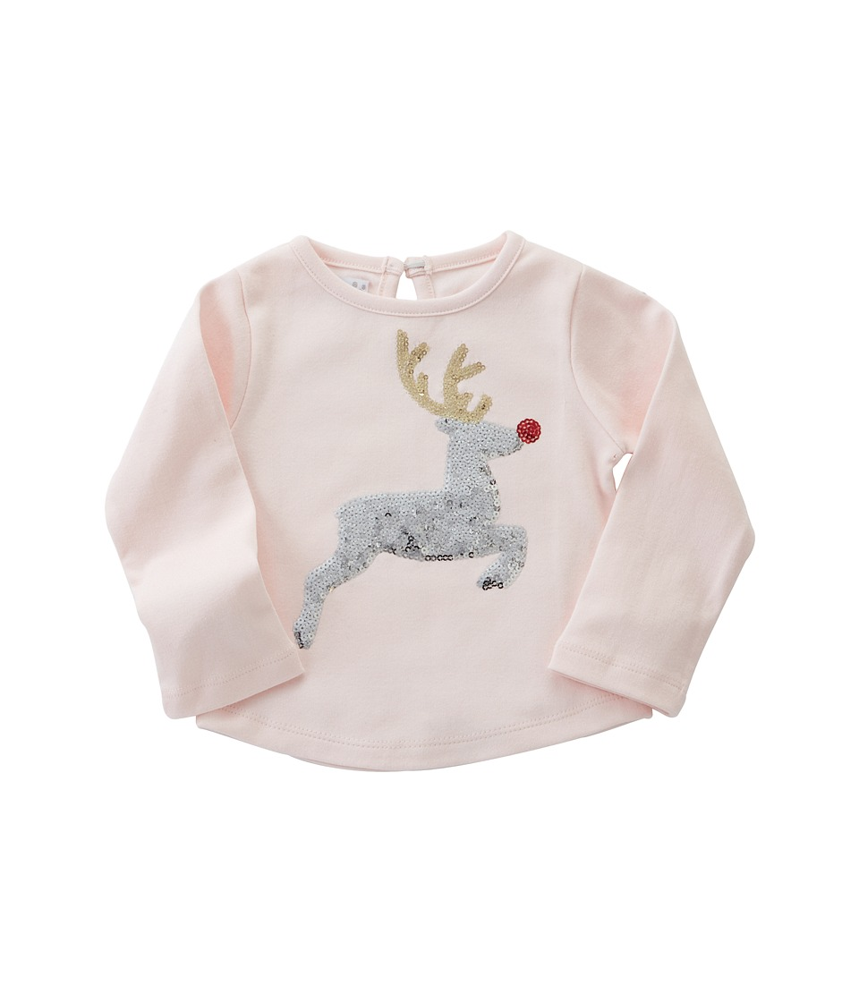 Mud Pie - Reindeer Dazzle Tunic (Infant/Toddler) (Pink) G...