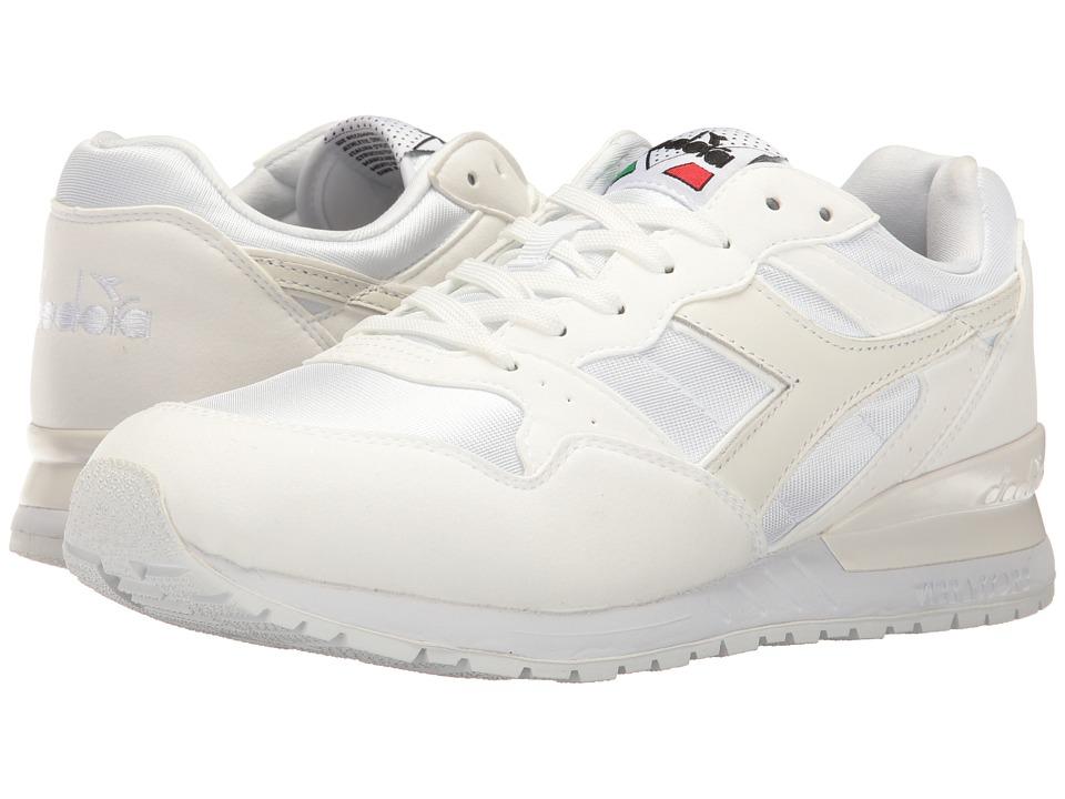 Diadora Intrepid NYL (White/White) Athletic Shoes