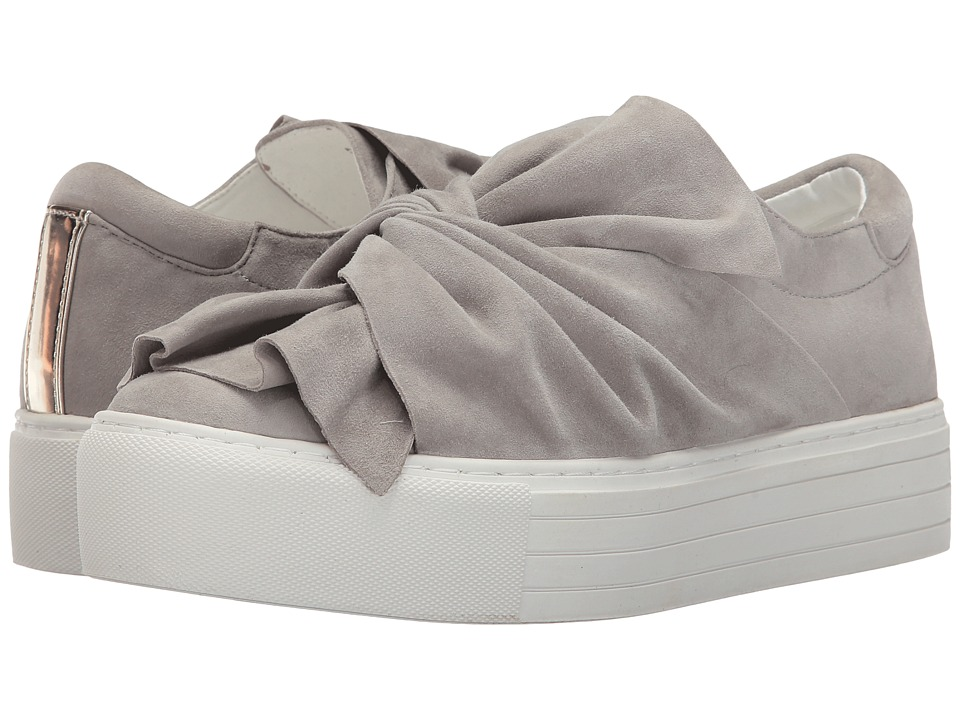 Kenneth Cole New York Aaron (Light Grey Suede) Women