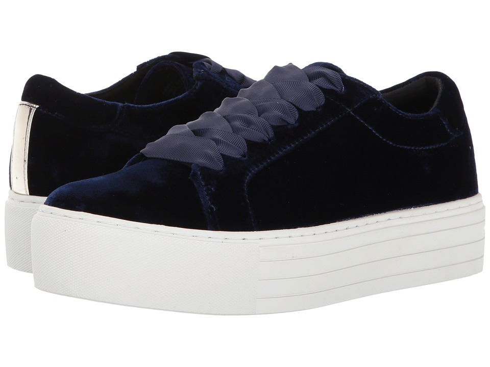 Kenneth Cole New York Abbey (Navy Velvet) Women