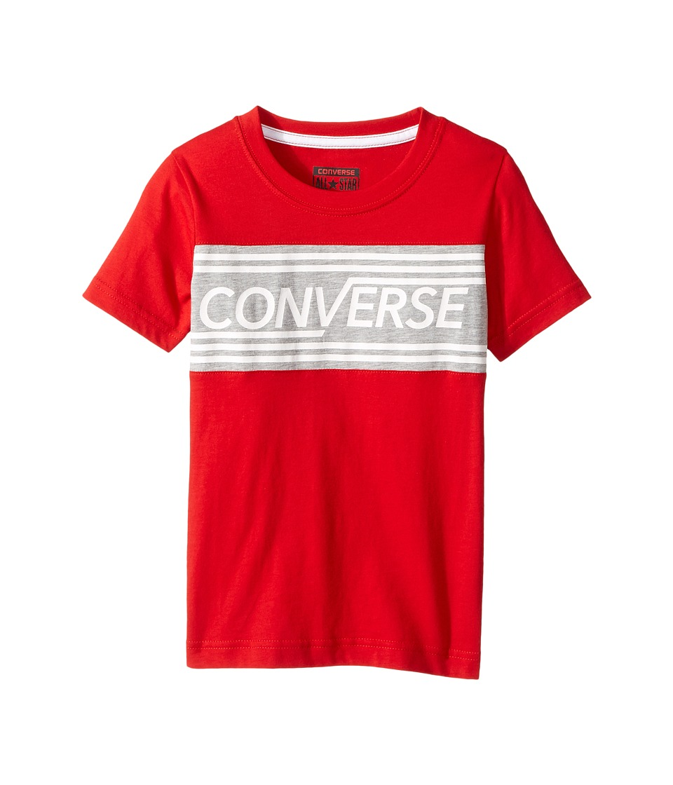 Converse Kids Retro Tee (Little Kids) (Red) Boy