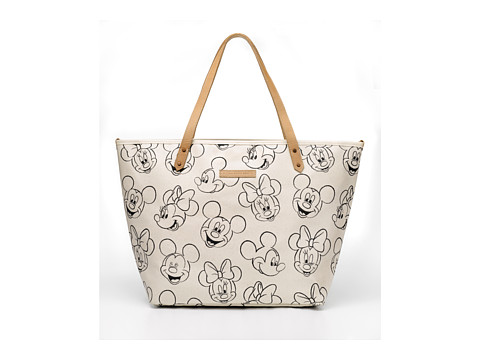 petunia pickle bottom Glazed Downtown Tote - Sketchbook Mickey/Minnie