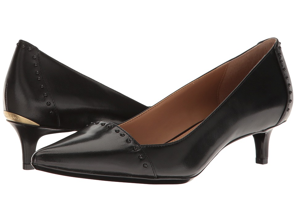 Calvin Klein - Griselda (Black Leather) Womens Shoes