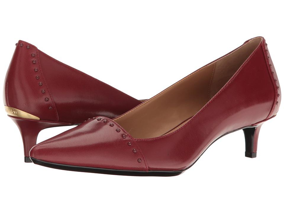 Calvin Klein Griselda (Cherry Red Leather) Women