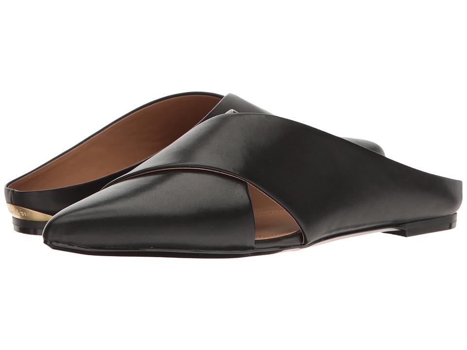 Calvin Klein Gerda (Black Leather) Women