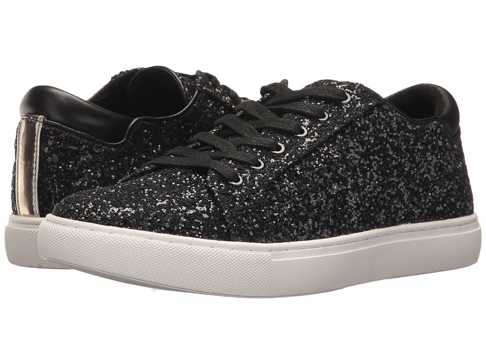 Kenneth Cole New York Kam Techni-Cole (Black Glitter) Women