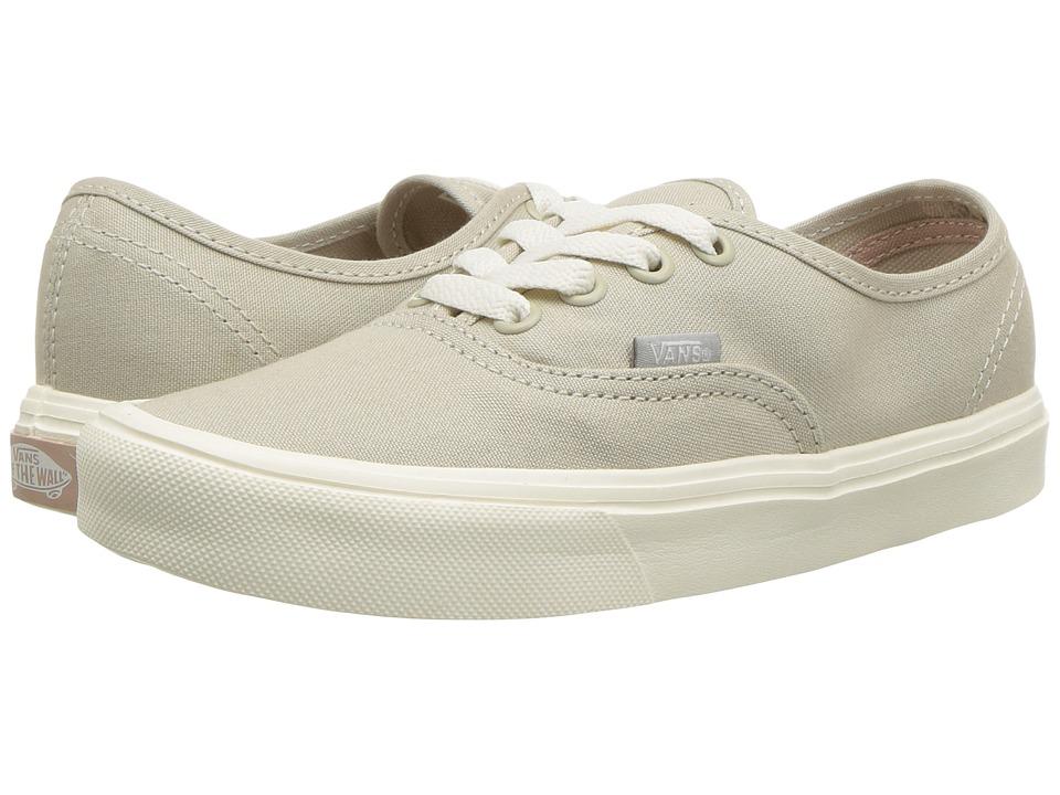 Vans Authentic Lite ((Canvas) Cement/Marshmallow) Skate Shoes