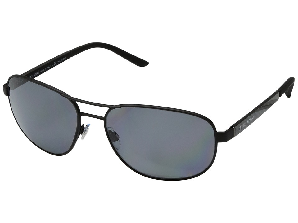 Giorgio Armani - 0AR6036 (Matte Black) Fashion Sunglasses