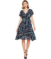 Unique Vintage - Wrap Dress