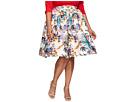 Plus Size Swing Skirt
