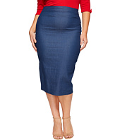 Unique Vintage - Plus Size Pencil Skirt