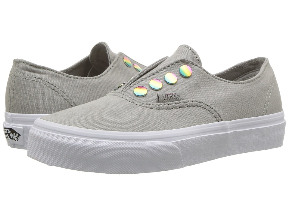 Vans Kids Authentic Gore (Little Kid/Big kid) ((Rainbow Eyelet) Drizzle) Girl's Shoes