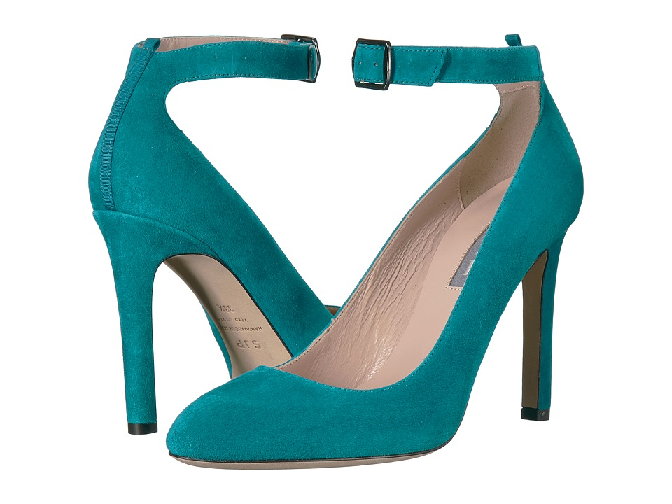 SJP by Sarah Jessica Parker Posh (Teal Suede) Women