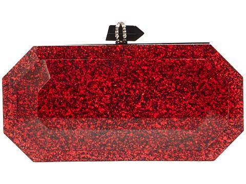 Marchesa Beth - Red/Black Glitter