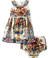 Dolce & Gabbana Kids - Floral Vase Dress (Infant)