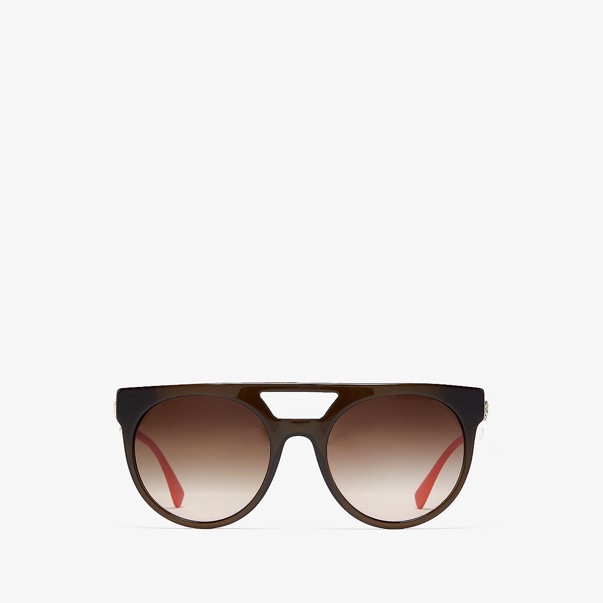 Versace VE4339 - Transparent Green/Orange/Brown Gradient
