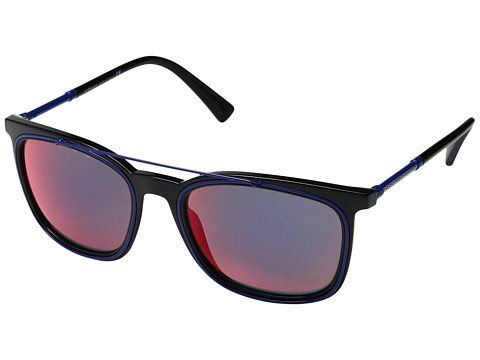 Versace VE4335 - Black/Dark Grey Mirror Blue/Red