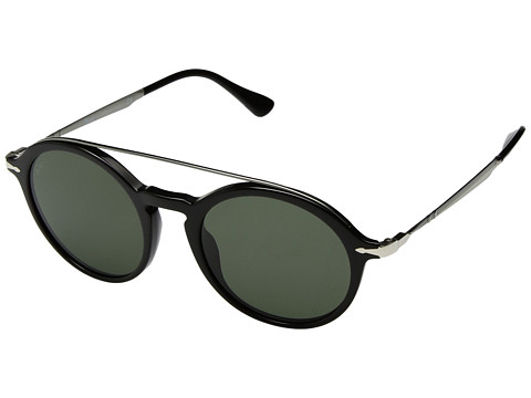 Persol 0PO3172S - Black/Gunmetal/Green