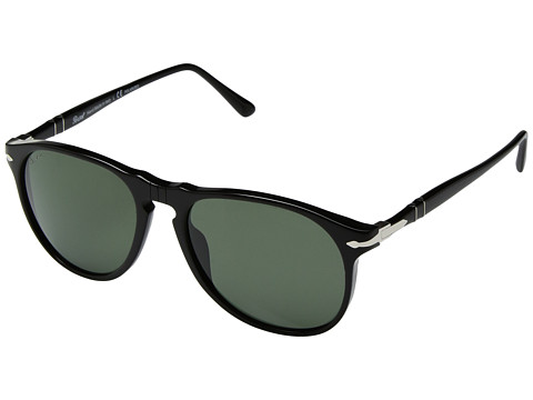Persol 0PO6649S - Black/Green Polarized