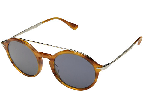 Persol 0PO3172S - Striped Brown/Gold/Light Blue