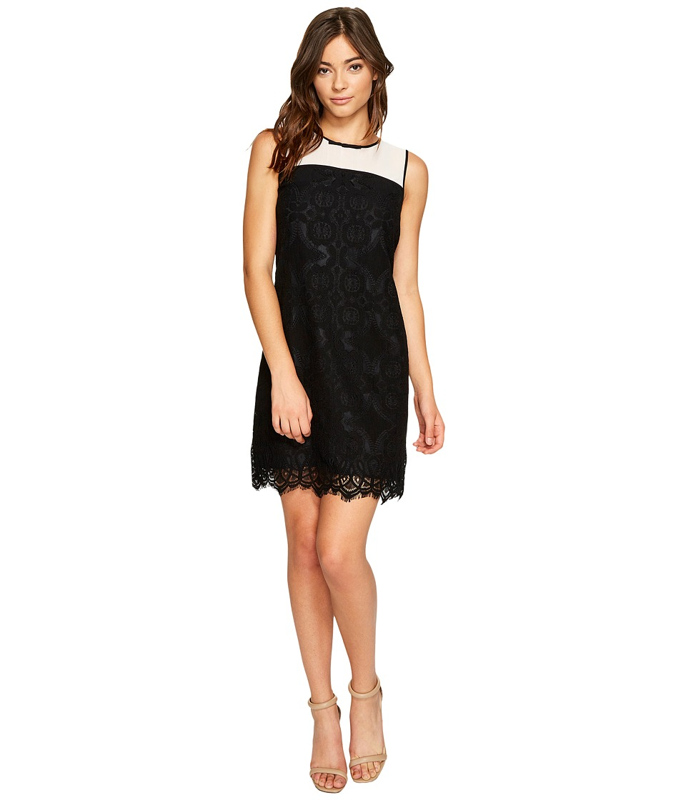 CeCe - Savannah - Sleeveless Medall (Rich Black) Womens Dress