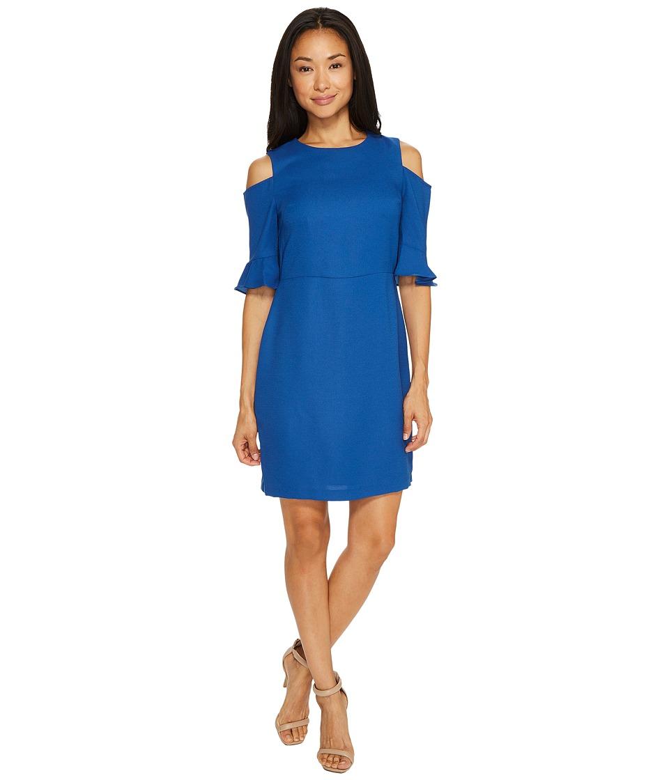CeCe Emily Cold Shoulder (Monaco Blue) Women