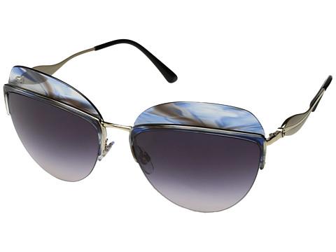 Giorgio Armani 0AR6061 - Striped Violet/Pink Gradient/Dark Violet
