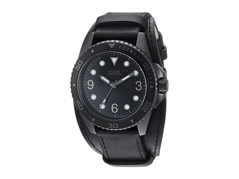 GUESS - U1052G4 (Black) Watches