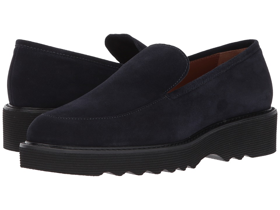 Aquatalia Kelsey (Navy Suede) Women