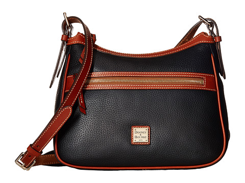Dooney & Bourke Pebble Piper - Black/Tan Trim